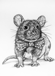 58-mouse-with-a-bow-tie